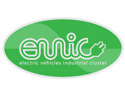 Logo design of Electric vehicles industrial cluster